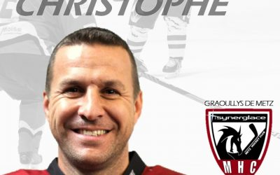 Christophe Pierre prolonge au Metz Hockey Club